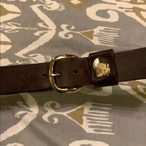 Royden leather belt  made in Pennsylvania 30